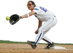 Fastpitch Softball Catcher or First Base