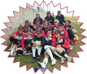 Softball Australia 2009 Friendship Series Fastpitch Softball