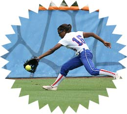 Fastpitch Softball Fielding - MBackhand Angle