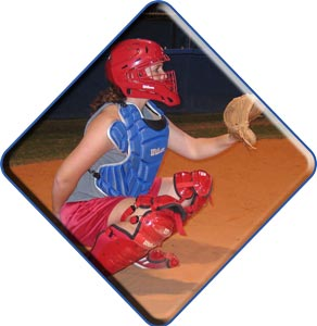 Fastpitch Softball Free Catching Tip - handling high pop ups near the backstop