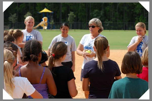 2012 pitching clinic port orange florida embry-riddle softball