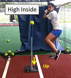 high inside better tee t drill plate coverage hitter hitting