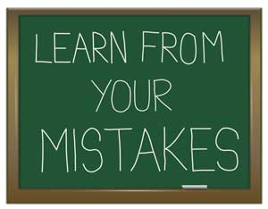 positive way look learn mistakes lessons growth development