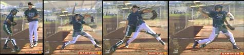 stride mystery overhand underhand pitch pitching pitcher throwing throw video baseball softball fastpitch