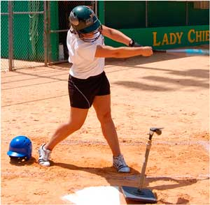 hitting batting helmet helmets face masks bulky heavy balance control heads practice on