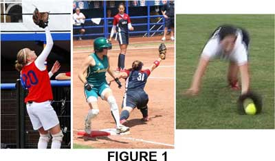 catch one hand reaching necessary fence flyball stretching dive ball infielders outfielders catchers