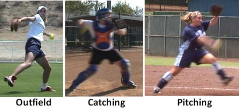 pitch pitcher pitching stride length catching outfield