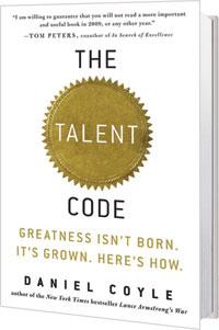 great talent code sue enquist dan coyle