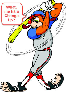 4 ways hit change up changeup recognize practice anchor spit on it bunt squeeze knees fast slow drill