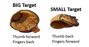 fastpitch softball 3 tips young catchers catching glove stretch