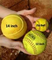 mix up pitching practice change ball sizes