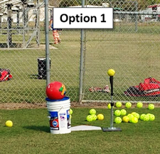 Knock Off Drill Pitching Control Focus Challenge Pitchers Option 1