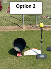 Knock Off Drill Pitching Control Focus Challenge Pitchers Option 2