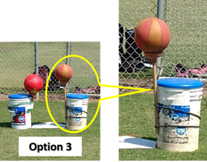 Knock Off Drill Pitching Control Focus Challenge Pitchers Option 3