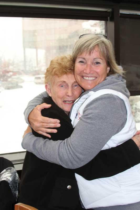 2017 Anchorage Alaska Claralene Williams and Cindy Bristow
