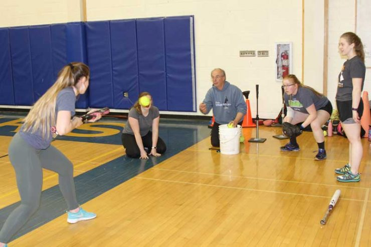 2017 Softball Clinic Homer Alaska Coach Bill Bell