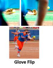 strengthen middle infield team toss glove