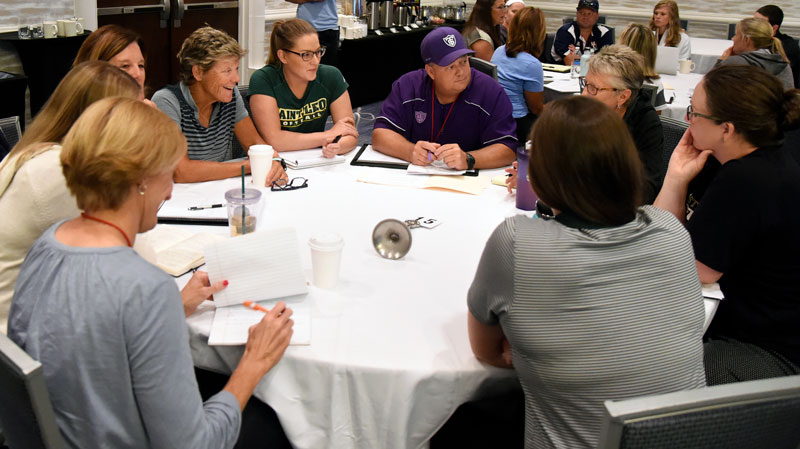 hitting summit roundtable college coaches hit positive focus mental