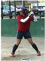 hitter must drop back shoulder order barrel focus middle ball