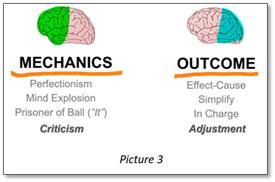 3 downsides focusing mechanics outcome criticism adjustment