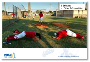 pitcher pitch condition conditioning workout focus adjust mental toughness