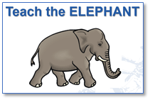 elephant teach players whole pieces together skill parts