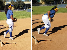 exaggeration drill pitcher pitching improve feel