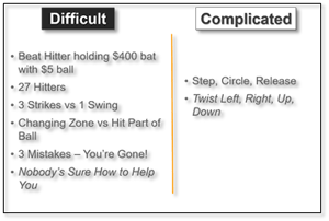 pitcher pitching lesson simple better complicated