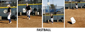 pitching solutions bucket fast ball fastball velocity speed movement pitch pitcher