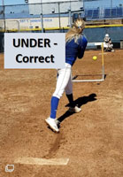 riseball hurdle drill help pitchers under correct