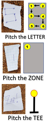 pitch pitcher pitching workout challenging fun letter zone word tee