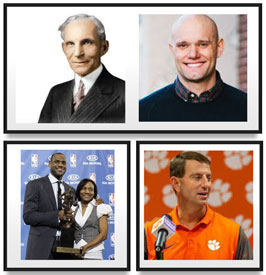 5 favorite quotes lebron james clear dabo swinney author unknown mom
