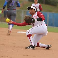 fielding backhands body glove bend back knee ball close ground